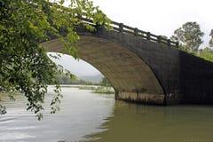 Arc Bridge. Bridge over a stream, India Royalty Free Stock Images