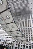 arc building de defense法国巴黎s旅行 免版税库存图片