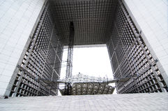 arc building de defense Γαλλία Παρίσι s ταξίδι Στοκ Φωτογραφία