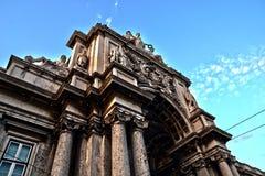 Arc carré de commerce - Lisbonne HDR Photos stock