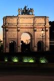 arc carrousel de du Γαλλία Παρίσι triomphe Στοκ εικόνες με δικαίωμα ελεύθερης χρήσης