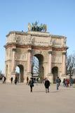 arc carrousel de du Παρίσι triomphe Στοκ Φωτογραφία