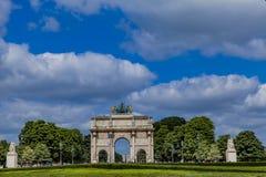 arc carrousel de du Παρίσι triomphe Στοκ εικόνες με δικαίωμα ελεύθερης χρήσης