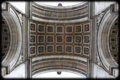arc ceiling de triomphe Στοκ φωτογραφίες με δικαίωμα ελεύθερης χρήσης