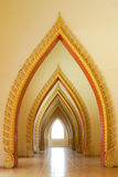 Arc of church. Royalty Free Stock Photography