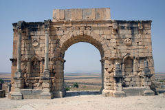 Arc D'Triomphe, Volubilis 2 Royalty Free Stock Image