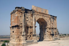 Arc D'Triomphe, Volubilis Royalty Free Stock Image