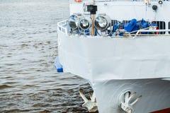 Arc d'un bateau de ferry Image libre de droits