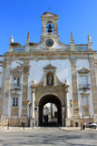 Arc da Vila, Faro, Algarve, Portugal. Beautiful medieval Arc da Vila in Faro, Algarve, Portugal Stock Photo