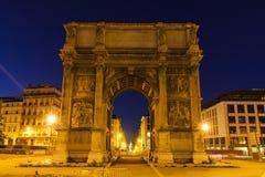 Arc de Λα Porte δ ` Aix στη Μασσαλία Στοκ φωτογραφίες με δικαίωμα ελεύθερης χρήσης