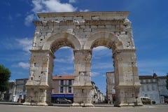 Arc de Germanicus σε Saintes Στοκ Εικόνα