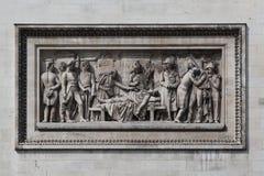arc de relief triomphe Στοκ εικόνες με δικαίωμα ελεύθερης χρήσης