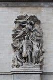 arc de relief triomphe Στοκ Εικόνες