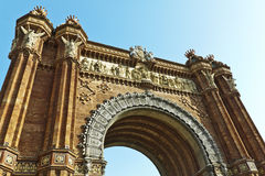 Arc de Triomf Royalty Free Stock Photography