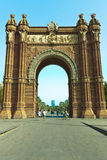 Arc de Triomf Royalty Free Stock Photo