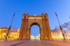 Arc de Triomf Στοκ φωτογραφίες με δικαίωμα ελεύθερης χρήσης
