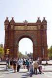 Arc de Triomf. Spain in Barcelona Royalty Free Stock Photography