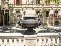 Arc de Triomf Stock Image