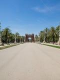 Arc de Triomf Royalty Free Stock Photography