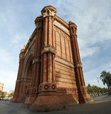 Arc de Triomf, Barcelona. Spain Royalty Free Stock Images