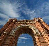 Arc de Triomf, Barcelona. Spain Royalty Free Stock Photos