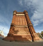 Arc de Triomf, Barcelona. Spain Royalty Free Stock Photography