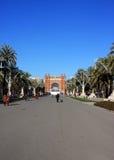 Arc de triomf in Barcelona. This image presents the Arc de triomf in Barcelona Stock Images