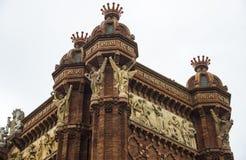 Arc de Triomf, Barcelona Lizenzfreie Stockfotografie