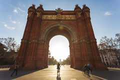 The Arc de Triomf, Barcelona Royalty Free Stock Photos