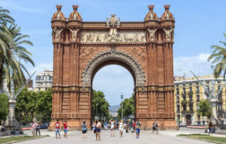 Arc de Triomf Stock Images