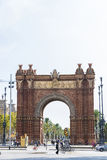 Arc de Triomf, Barcelona Royalty Free Stock Photos