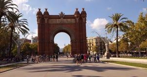 Arc De Triomf,  Barcelona,  Spain. Photo of Arc De Triomf in Barcelona,  Spain Stock Images
