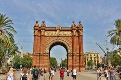Arc de Triomf, Barcelona Royalty Free Stock Photo