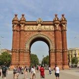 Arc de Triomf, Barcelona Stock Photo