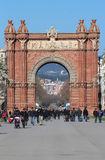 Arc de Triomf - Barcelona Stock Photography