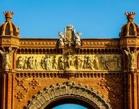 Arc de Triomf, Barcelona Royalty Free Stock Photos