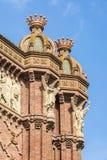 Arc de Triomf, Barcelona Stock Images
