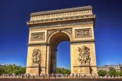 Arc de Triomf, París, Francia fotografía de archivo libre de regalías