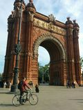 Arc de Triomf Stock Photos