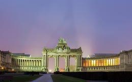 Arc de Triomph Βρυξέλλες Βέλγιο Στοκ Εικόνες