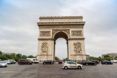 Arc de Triomphe à Paris Photos libres de droits