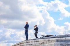 Arc de Triomphe Ένοπλες Δυνάμεις Στοκ εικόνα με δικαίωμα ελεύθερης χρήσης