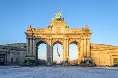 Arc de Triomphe - αψίδα του θριάμβου Στοκ Φωτογραφία