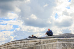 Arc de Triomphe ελεύθεροι σκοπευτές Στοκ φωτογραφίες με δικαίωμα ελεύθερης χρήσης