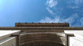 Arc de Triomphe de λ ` Ã ‰ toile, Παρίσι Στοκ εικόνες με δικαίωμα ελεύθερης χρήσης