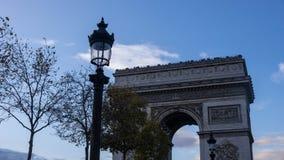 Arc de Triomphe de λ ` Ã ‰ toile Στοκ Φωτογραφία