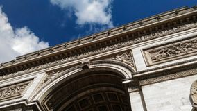 Arc de Triomphe de λ ` Ã ‰ toile, Paris1 Στοκ φωτογραφία με δικαίωμα ελεύθερης χρήσης