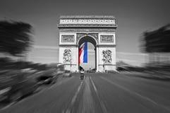 Arc de Triomphe, Παρίσι Γαλλία Στοκ Εικόνες