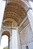 Arc de Triomphe, Παρίσι, Γαλλία. Στοκ Εικόνα