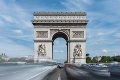 Arc de Triomphe - Παρίσι, Γαλλία Στοκ φωτογραφίες με δικαίωμα ελεύθερης χρήσης